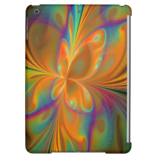 Abstract Vibrant Fractal Butterfly iPad Air Case
