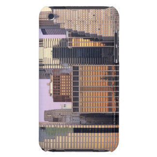 Abstract view of Downtown Manhattan, New York iPod Case-Mate Cases