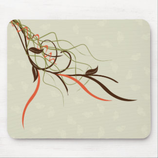 Abstract - Vines Mouse Mat