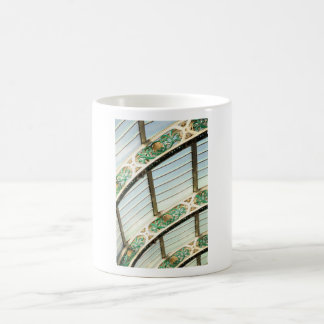 Abstract vintage architecture coffee mug