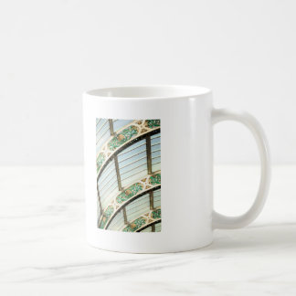 Abstract vintage architecture coffee mugs