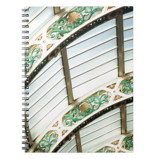 Abstract vintage architecture note books