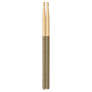 Abstract vintage background drumsticks