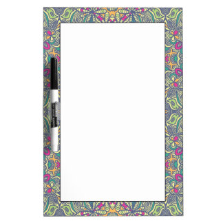 Abstract vintage background dry erase white board