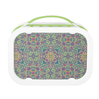 Abstract vintage background lunch box
