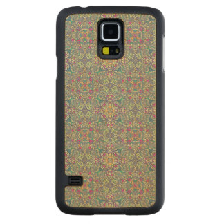 Abstract vintage background maple galaxy s5 case