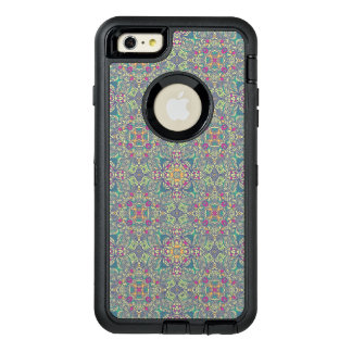 Abstract vintage background OtterBox defender iPhone case