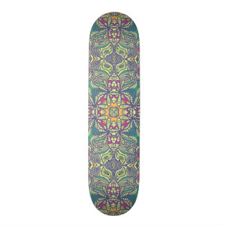 Abstract vintage background skate board