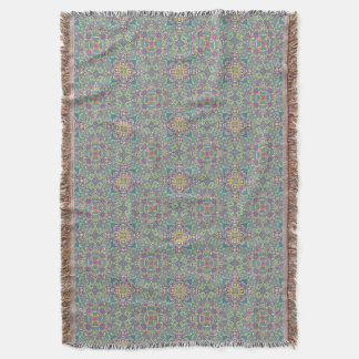 Abstract vintage background throw blanket