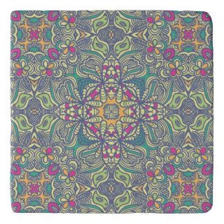 Abstract vintage background trivet