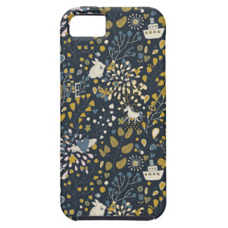 Abstract vintage pattern case for the iPhone 5