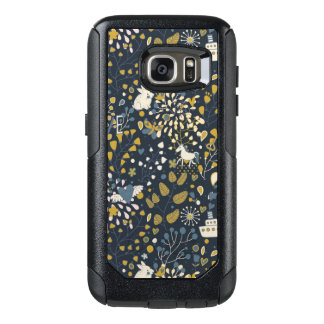 Abstract vintage pattern OtterBox samsung galaxy s7 case