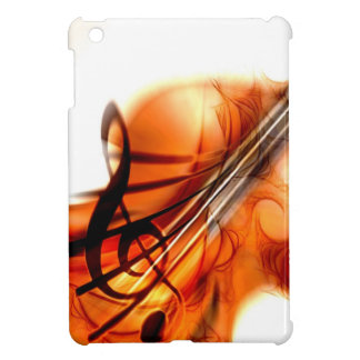 Abstract Violin Art Cover For The iPad Mini