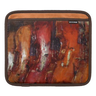Abstract Violins Sleeve For iPads
