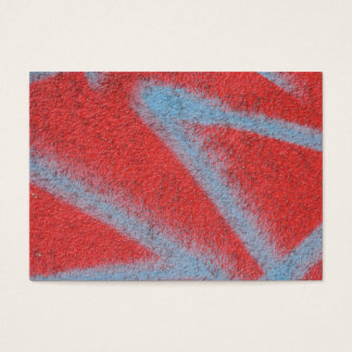 abstract wall aceo business card
