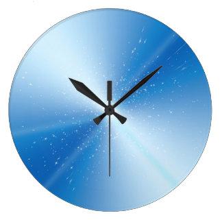 Abstract warp speed. wall clock