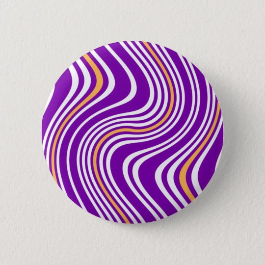 Abstract - Warped 6 Cm Round Badge