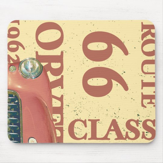 Abstract Watch Mouse Mat