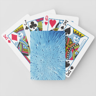 Abstract water background bicycle playing cards