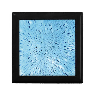 Abstract water background gift box