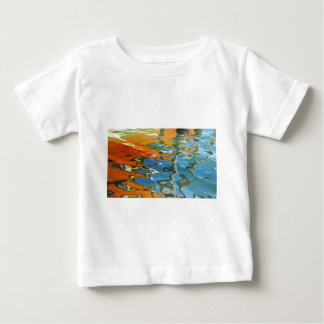 Abstract water reflections in Venice Baby T-Shirt