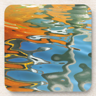 Abstract water reflections in Venice Coaster