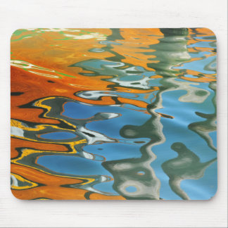 Abstract water reflections in Venice Mouse Mat