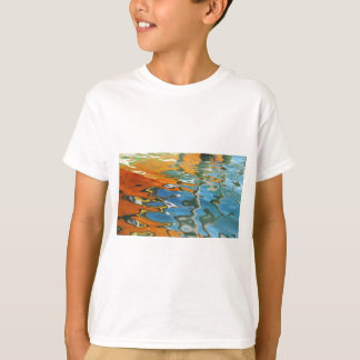 Abstract water reflections in Venice T-Shirt