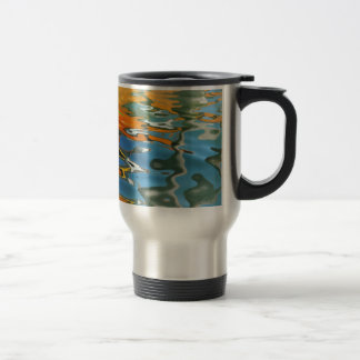 Abstract water reflections in Venice Travel Mug