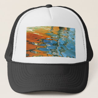Abstract water reflections in Venice Trucker Hat