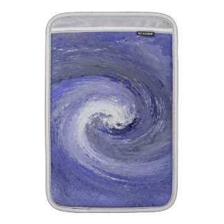 Abstract Water whirl whirlpool – Blue MacBook Sleeve