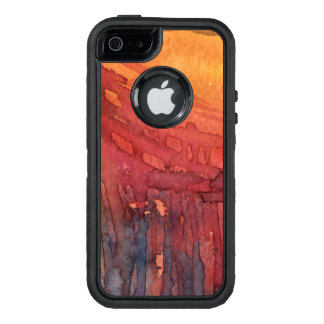 Abstract watercolor 3 OtterBox iPhone 5/5s/SE case