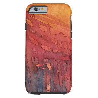 Abstract watercolor 3 tough iPhone 6 case