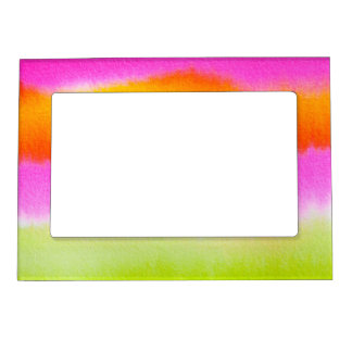 Abstract Watercolor 5x7 Magnetic Frame