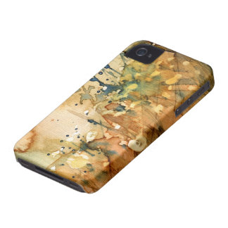 Abstract watercolor and old background Case-Mate iPhone 4 cases