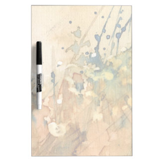 Abstract watercolor and old background dry erase board