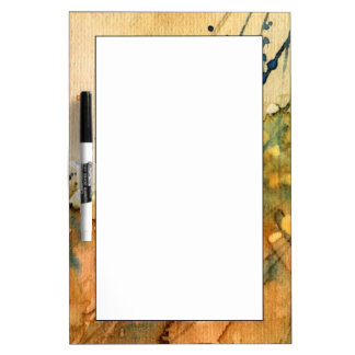 Abstract watercolor and old background dry erase whiteboards
