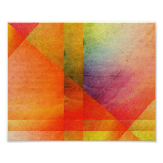 Abstract Watercolor Art Rainbow Colors Photo Art