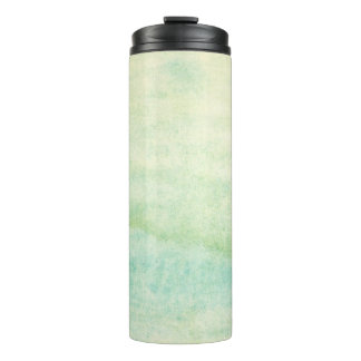 Abstract  watercolor background 2 thermal tumbler