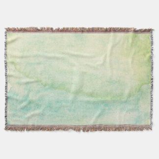 Abstract  watercolor background 2 throw blanket