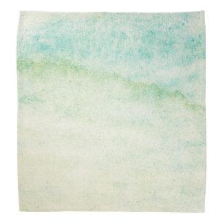 Abstract  watercolor background bandana