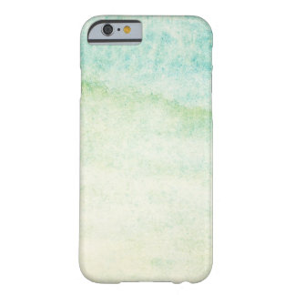 Abstract watercolor background barely there iPhone 6 case