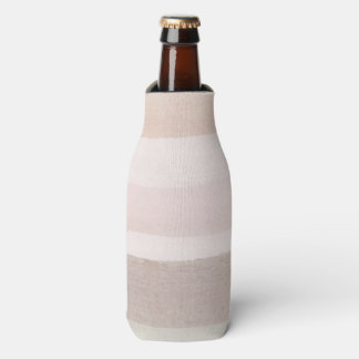 Abstract watercolor background bottle cooler