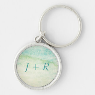 Abstract  watercolor background key ring