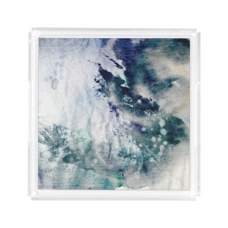 Abstract watercolor background on grunge paper 2