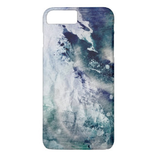 Abstract watercolor background on grunge paper 2 iPhone 8 plus/7 plus case