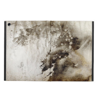 Abstract watercolor background on grunge paper iPad air cover