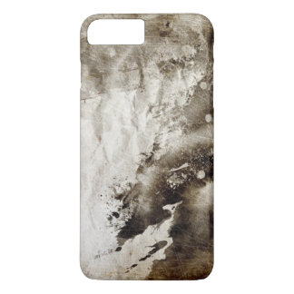 Abstract watercolor background on grunge paper iPhone 8 plus/7 plus case