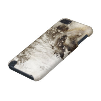 Abstract watercolor background on grunge paper iPod touch (5th generation) cover