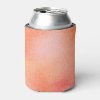 Abstract Watercolor Background - Orange Can Cooler
